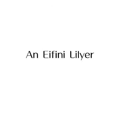 转让商标-AN EIFINI LILYER