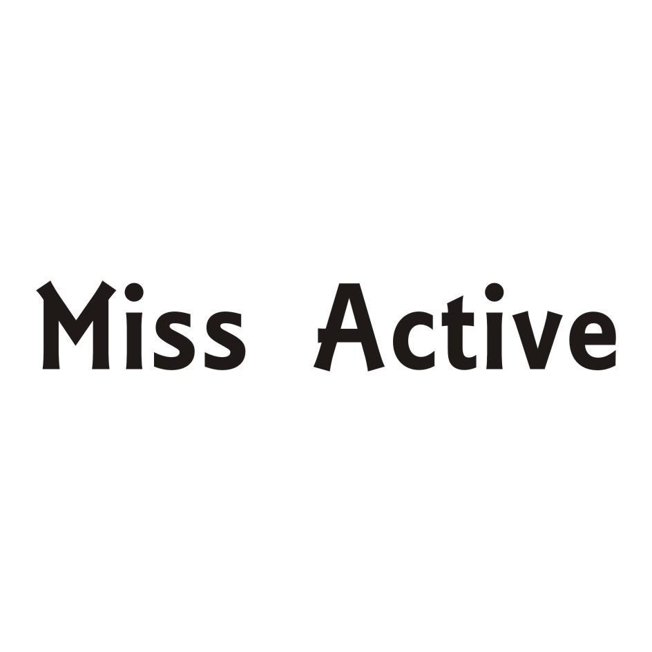 转让商标-MISS ACTIVE