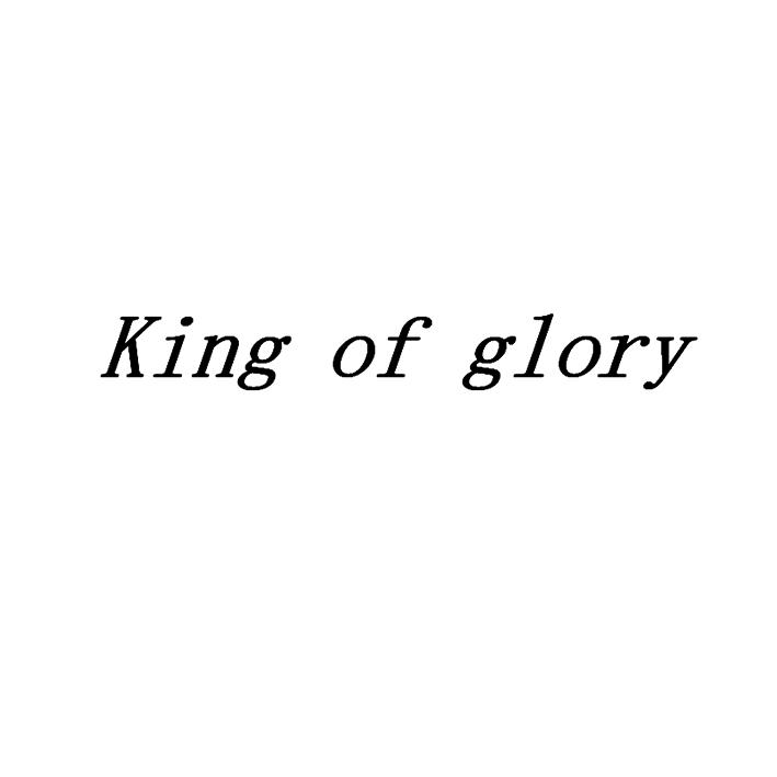 KING OF GLORY寓意王者荣耀