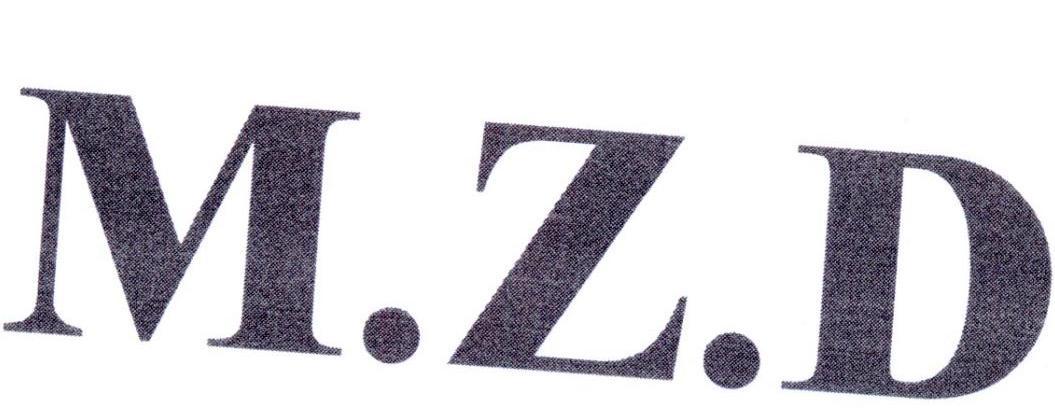 转让商标-M.Z.D