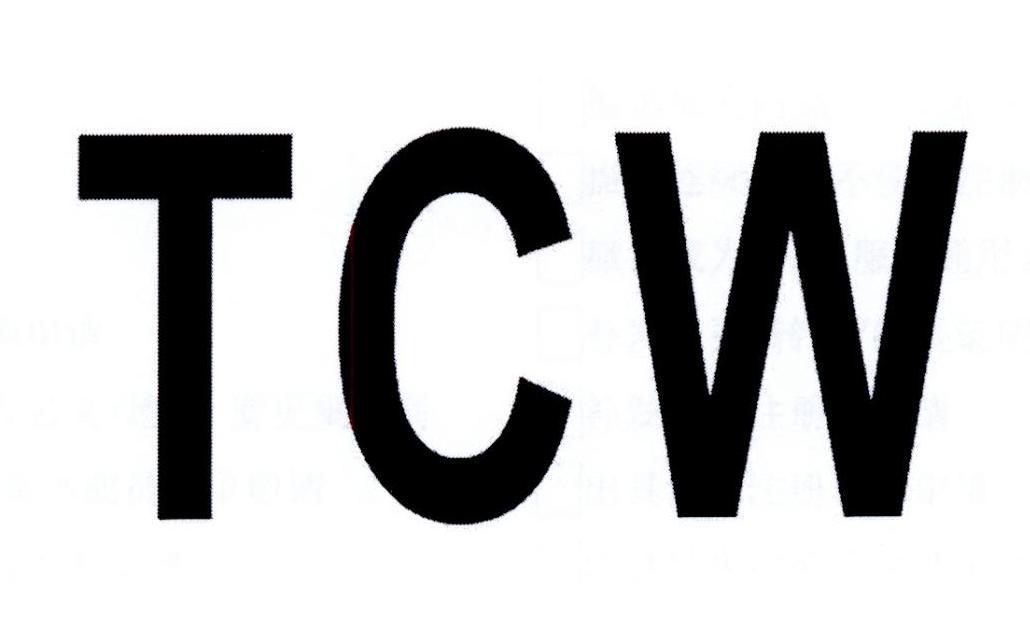 转让商标-TCW