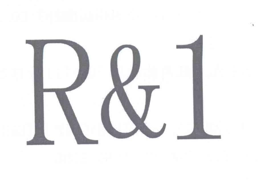 转让商标-R & 1