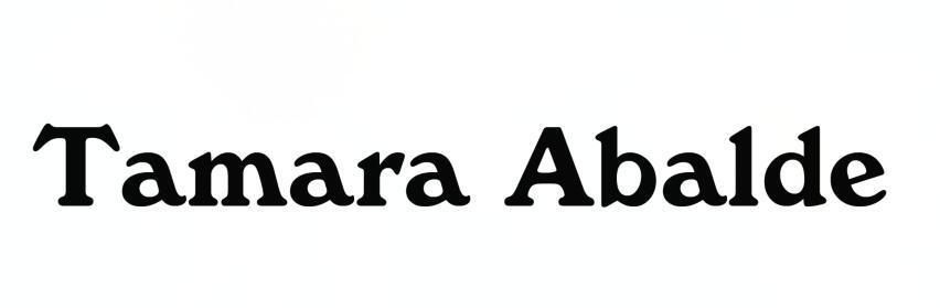 转让商标-TAMARA ABALDE