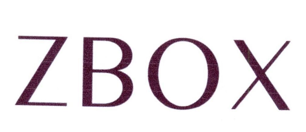 转让商标-ZBOX