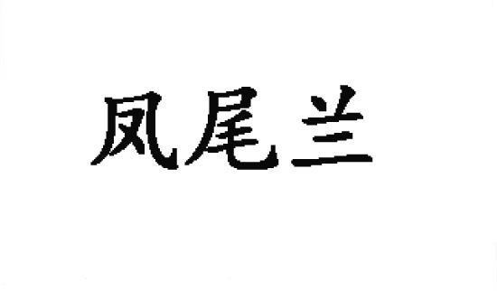 转让商标-凤尾兰